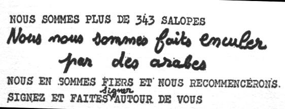 Flugblatt der FHAR 1971