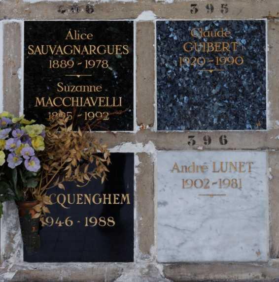 Guy Hocquenghem Urnen-Grab auf Père Lachaise, Paris (Foto: Pierre-Yves Beaudouin)