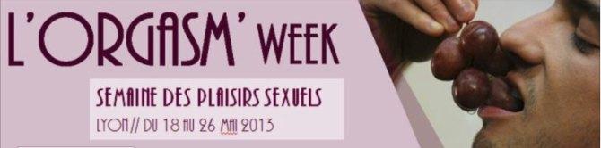 Orgasmus Woche Lyon (Grafik: Aides)