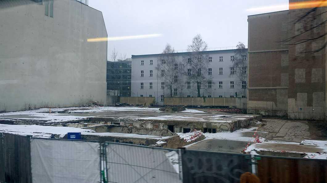 Polnische Botschaft Berlin Februar 2017: altes Gebäude abgerissen