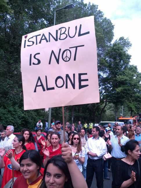 Istanbul is not alone