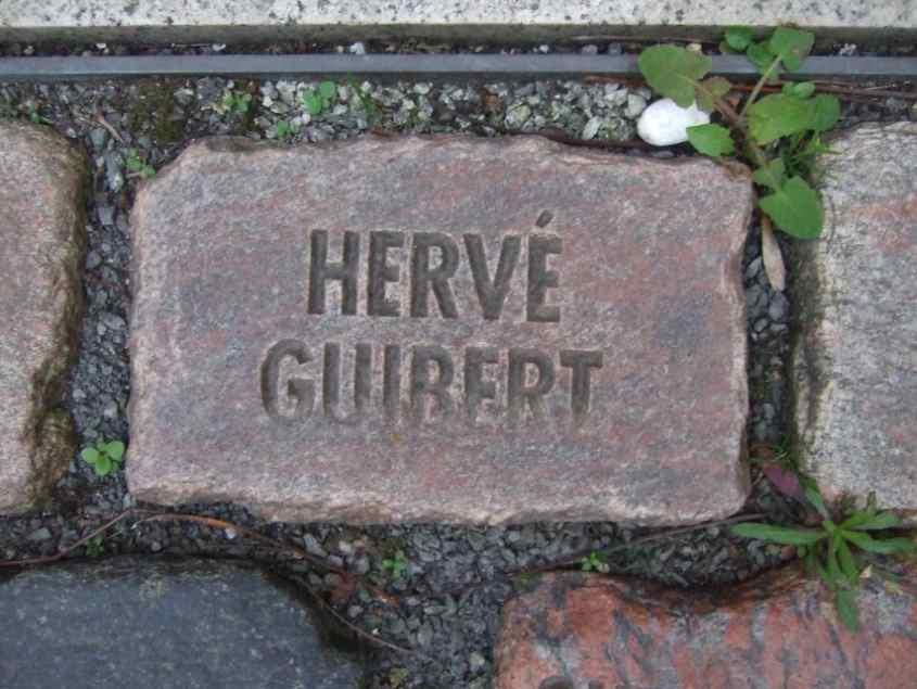 Hervé Guibert Namen und Steine Bonn