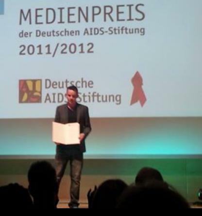 Marcel Dams Medienpreis 2011/12 der Deutschen Aids-Stiftung (Foto: Patrik Maas)