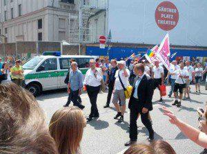 Christian Ude, wie seit 20 Jahren auch Schirmherr des CSD München 2013