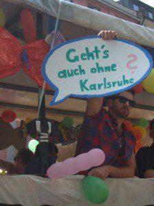 CSD München 2013 geht's auch ohne Karlsruhe ?