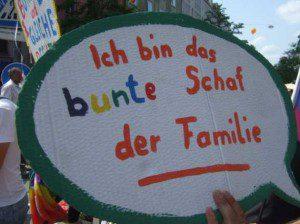 CSD München 2013 das bunte Schaf der Familie