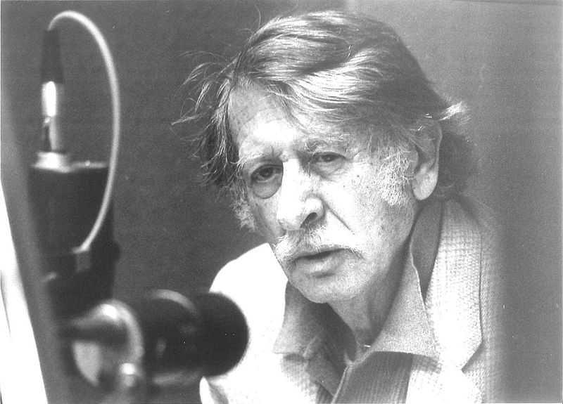 George Tabori ca. 1985 (Foto: Werner Bethsold, Lizenz cc-by-sa 4.0)