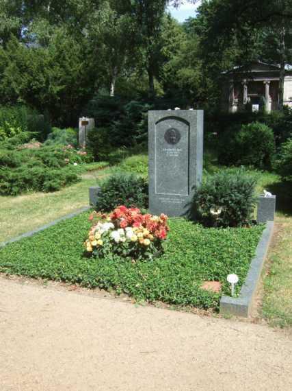 Grab von Johannes Rau