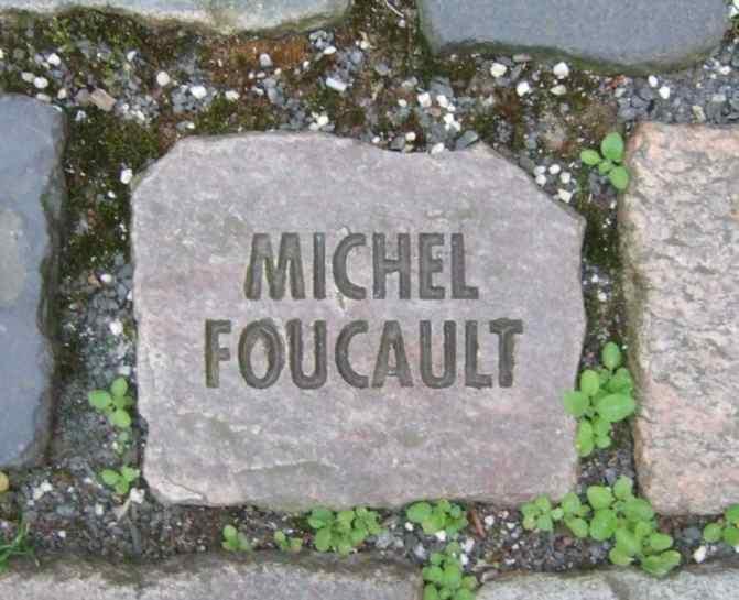 Michel Foucault Namen und Steine Tom Fecht Bonn 1993