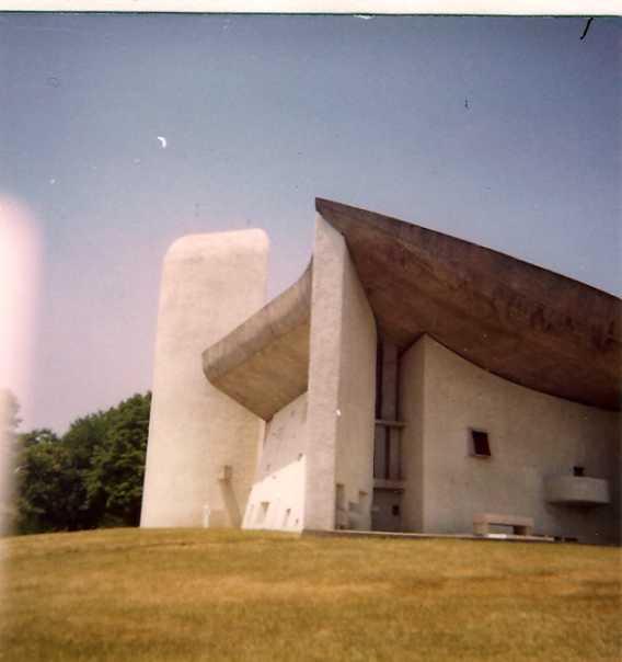 Notre Dame du Haut, Le Corbusier (1950), Juni 1976
