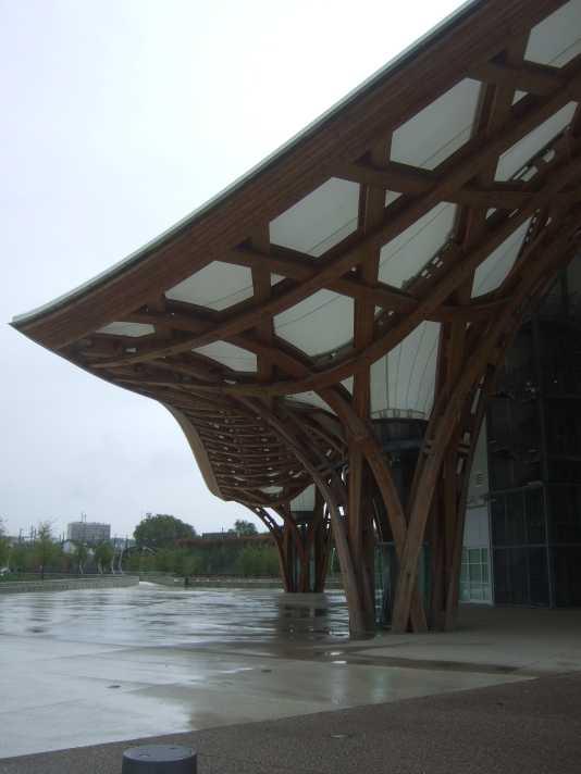 Centre Pompidou Metz Detail Dachkonstruktion Shigero Ban