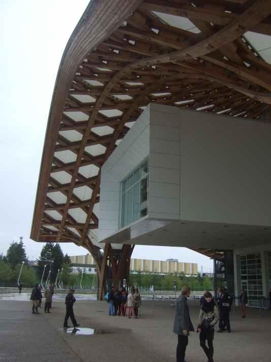 Centre Pompidou Metz Detail