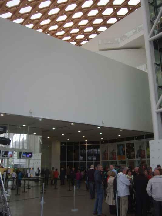 Centre Pompidou Metz Detail innen