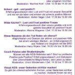 1. Landespositiventreffen NRW 1993 Programm