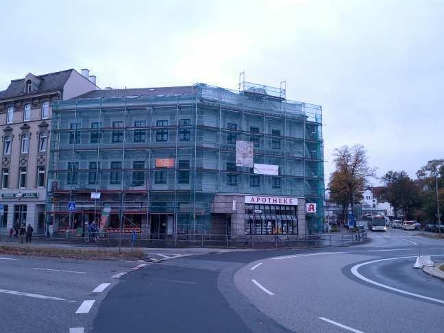 Erich Mühsam Lübeck - Apotheke am Lindenplatz