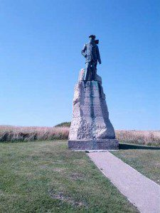 Hubert Latham Denkmal