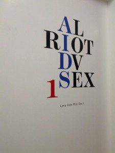 Love Aids Riot Sex 1