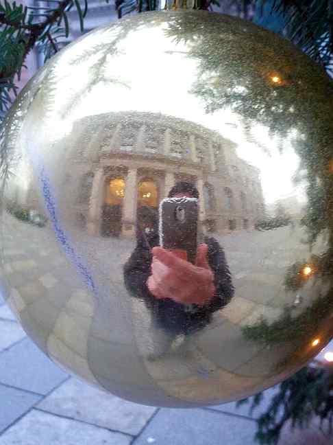 Weihnachten 2013 selfie