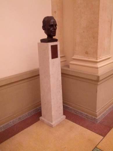Willy Brandt Büste im Abgeordnetenhaus Berlin Parlamentarier-Galerie