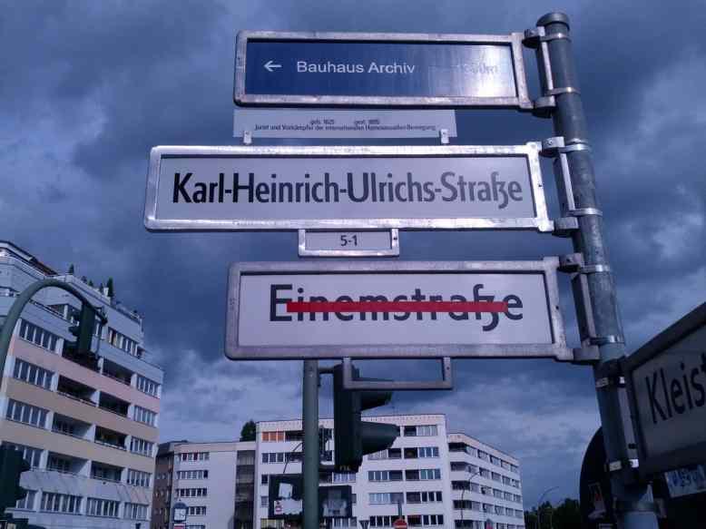 Karl Heinrich Ulrichs Strasse Berlin 2014