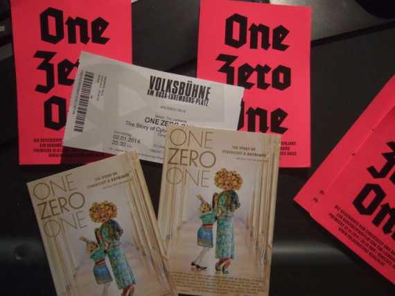 One Zero One Premiere Berlin 2. Januar 2014 Volksbühne