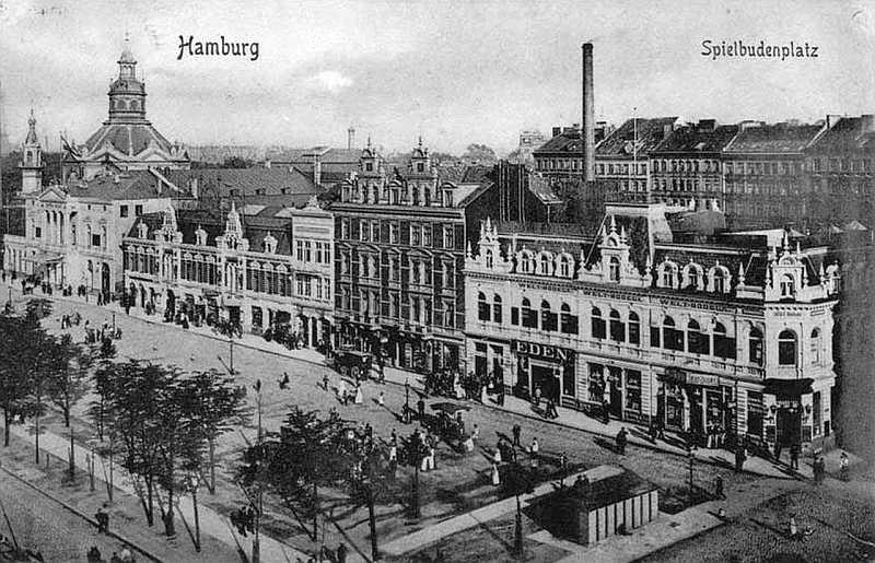 Eden Theater Hamburg Spielbudenplatz 1908 (gemeinfrei)