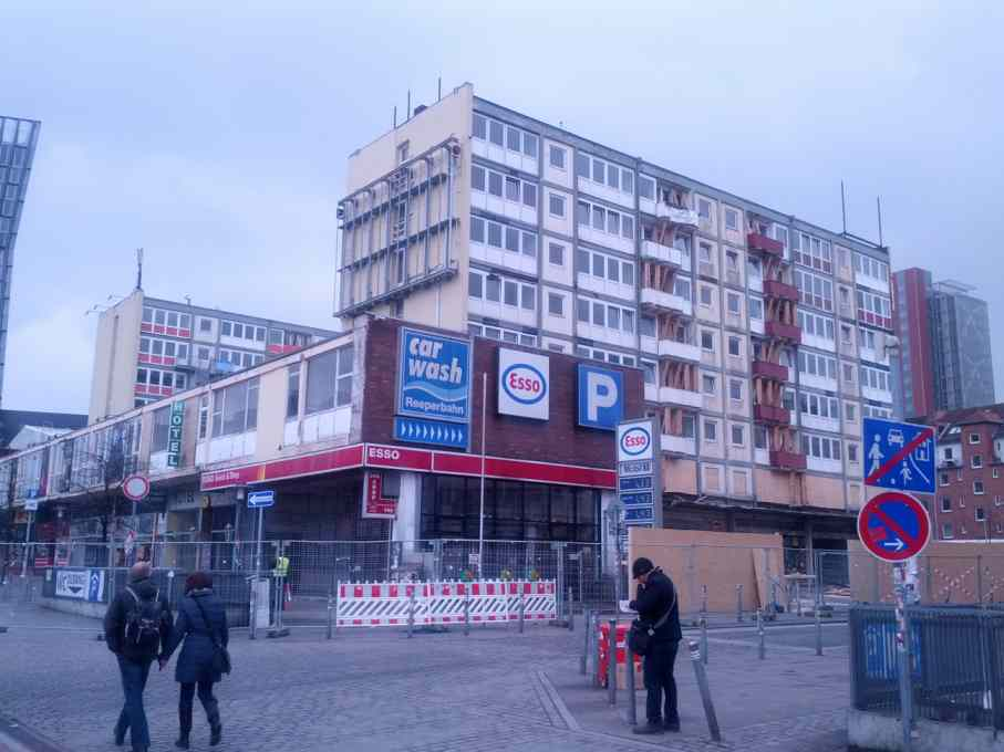 Esso Häuser im Februar 2014