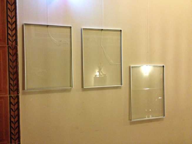 Karl Heinrich Ulrichs Ausstellung Tafeln gestohlen (Foto: Gerhard Hoffmann)