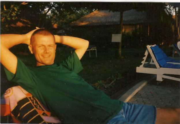 Ulli im Juli 1995 - noch quietschewohl