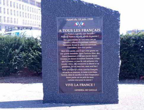 Charles de Gaulle / Appell vom 18. Juni 1940