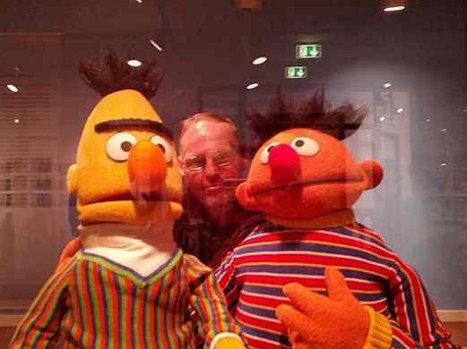 Ernie und Bert und Frank