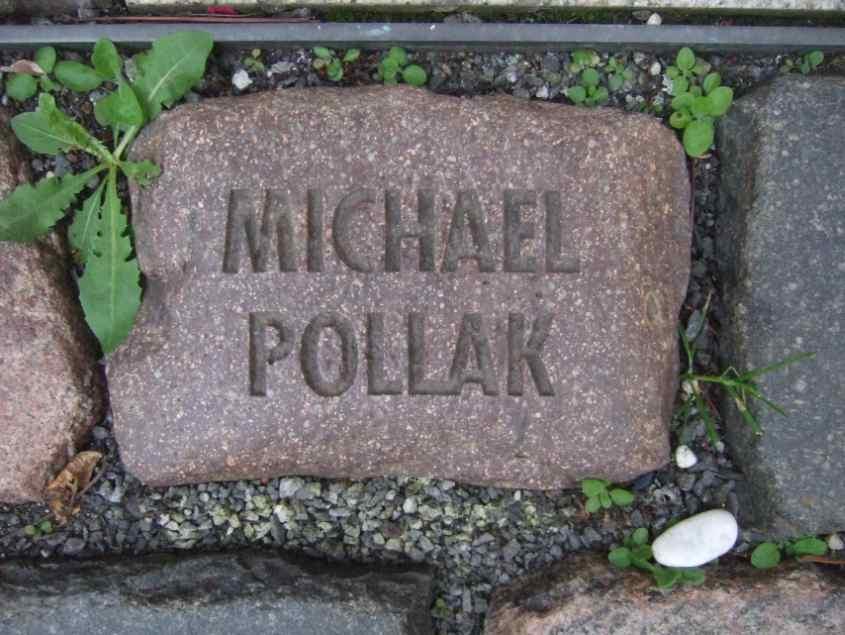Michael Pollak Namen und Steine Bonn