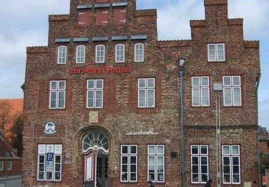 Lübsche Vogtei aus dem Jahr 1551 in Lübeck Travemünde