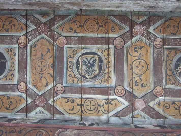 Renaissance Decke Luebsche Vogtei Travemuende 02