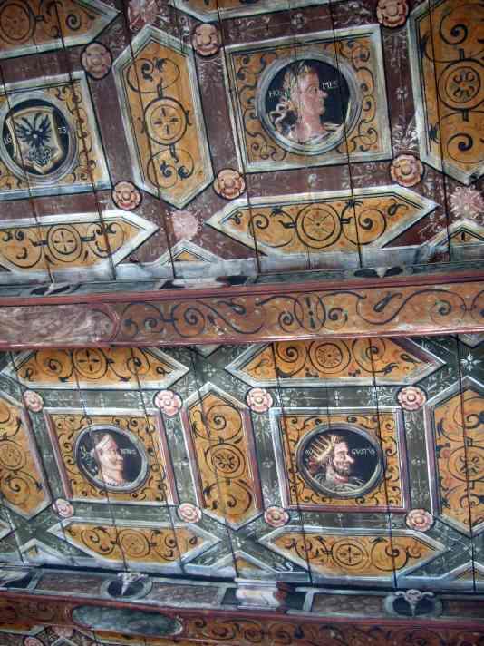 Renaissance Decke Luebsche Vogtei Travemuende 03