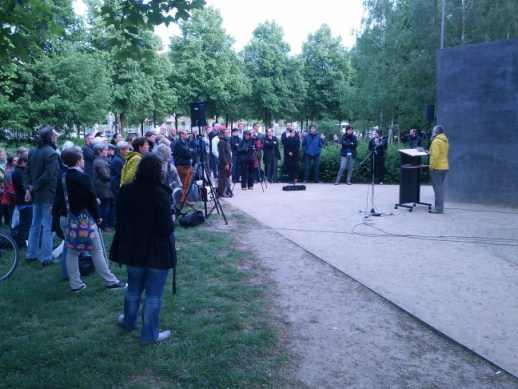 Gedenkstunde für in der NS-Zeit verfolgte Lesben 2014