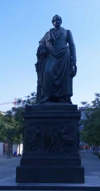 Goehte-Denkmal Frankfurt (Ludwig von Schwanthaler, 1844)