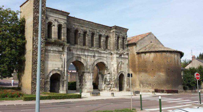 Autun porte Saint-André