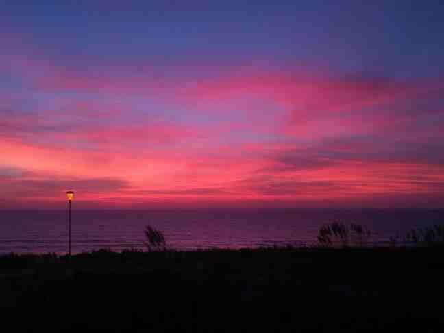 Abend am Strand von Lacanau