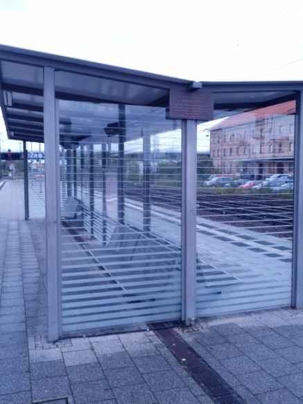 letztes Lebenszeichen Edith Stein / Gedenktafel Bahnhof Schifferstadt