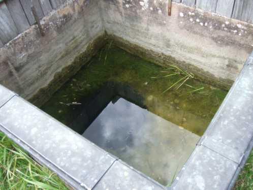 Salzquellen von Saint Pere Brunnen 2