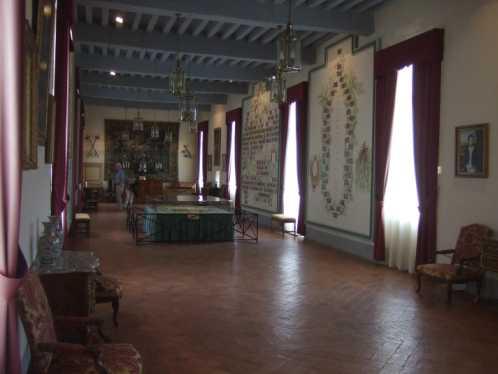 Schloss Bazoches Galerie