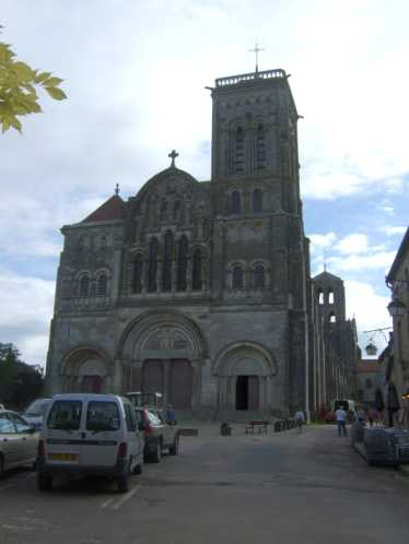 Basilika Sainte Marie Madeleine in Vézelay