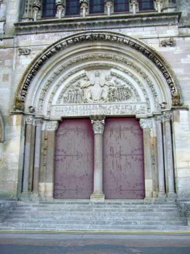 Vezelay Basilika Sainte Marie Madeleine 02