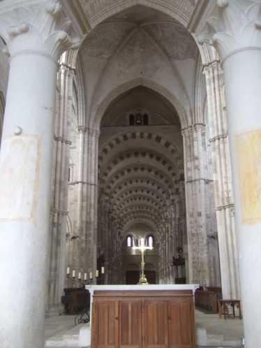 Vezelay Basilika Saint Marie Madeleine 05