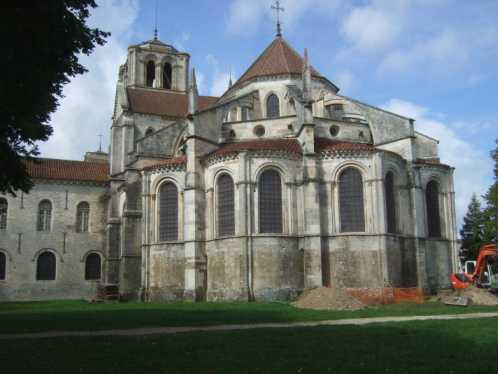 Vezelay Basilika Sankt maria Magdalena