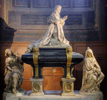 Colbert Grabstätte, Saint-Eustache, Paris (Foto: Sting/ Eric Gaba)