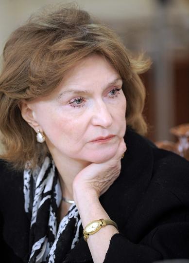 Natalia Narochnitskaya im Februar 2012 (Foto: wikimedia / Premier.gov.ru)