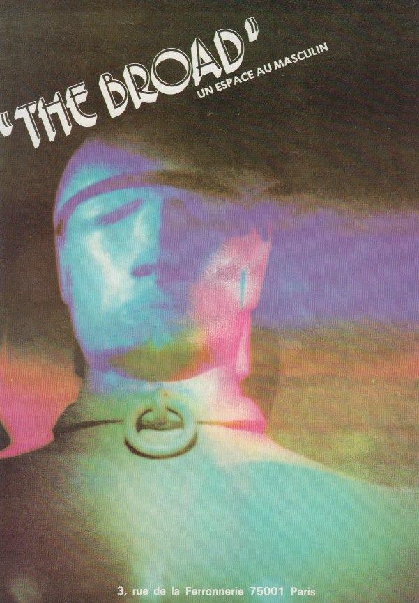 The Broad Werbung 1983 (Abbildung mit freundlicher Genehmigung The Broad)