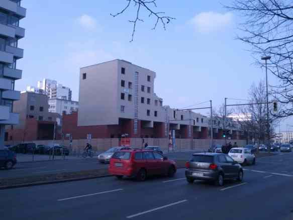 Ungers IBA-Wohnblock, Abriss, Februar 2013